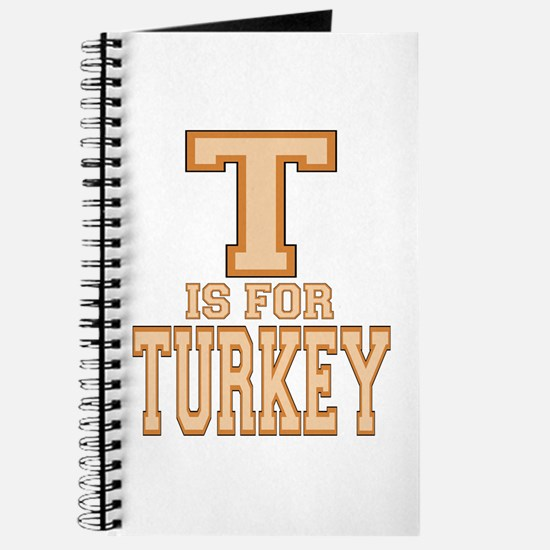T is for Turkey Journal