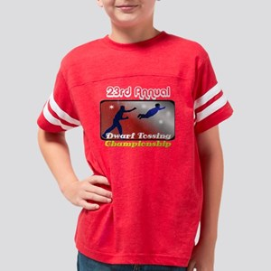 dwarf tosser 2 Youth Football Shirt