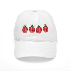 Strawberries Baseball Cap