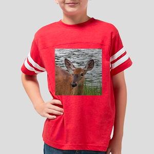 deer_tile_05 Youth Football Shirt