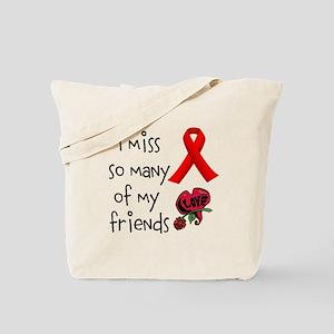 Lost Friends Tote Bag