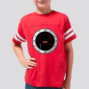 mini clock Youth Football Shirt