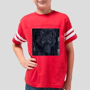 eyesofthenight_stamp Youth Football Shirt