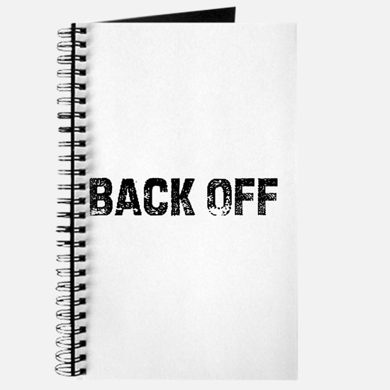 Back Off Journal