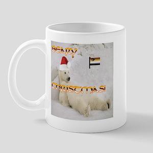 BEAR PRIDE BEARY CHRISTMAS Mug