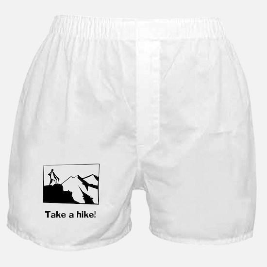 TAKE A HIKE Boxer Shorts