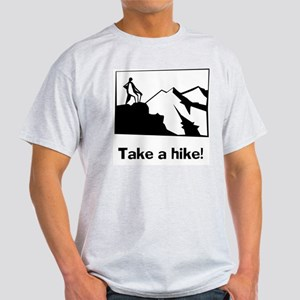 TAKE A HIKE Ash Grey T-Shirt