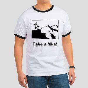 TAKE A HIKE Ringer T
