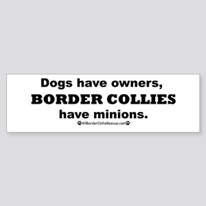 BCs vs. Dogs Sticker (Bumper)