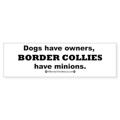 BCs vs. Dogs Sticker (Bumper)