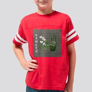 Bamboo and Lily Cancer Youth Football Shirt