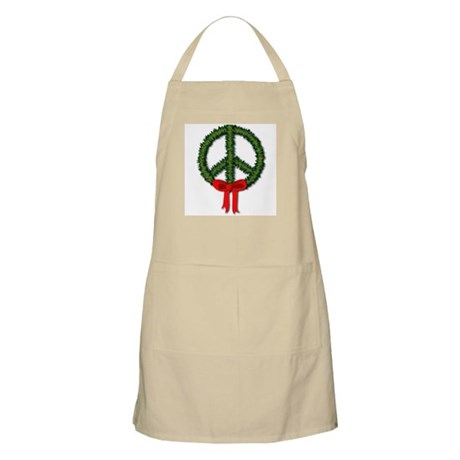 Peace Wreath BBQ Apron