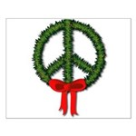 Peace Wreath Small Poster