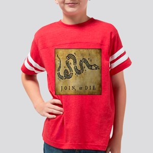 Join or Die Bandana Youth Football Shirt