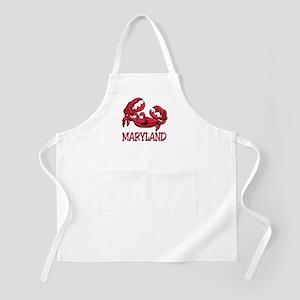 Maryland Crab BBQ Apron
