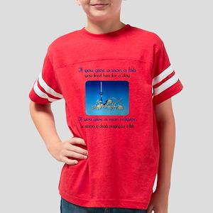 prayingfish01ax Youth Football Shirt