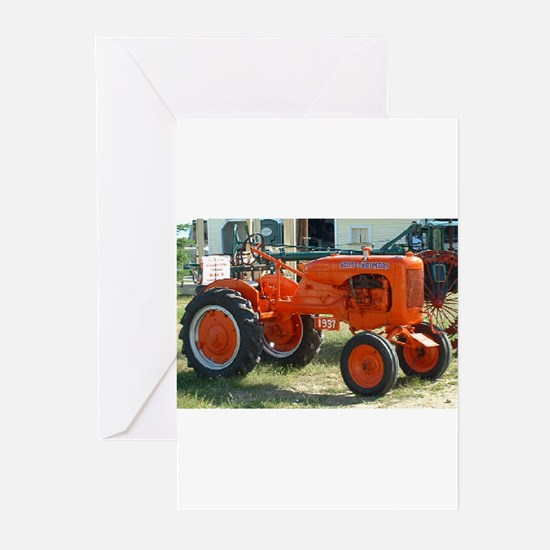 Allis Chalmers Tractor.png Greeting Cards