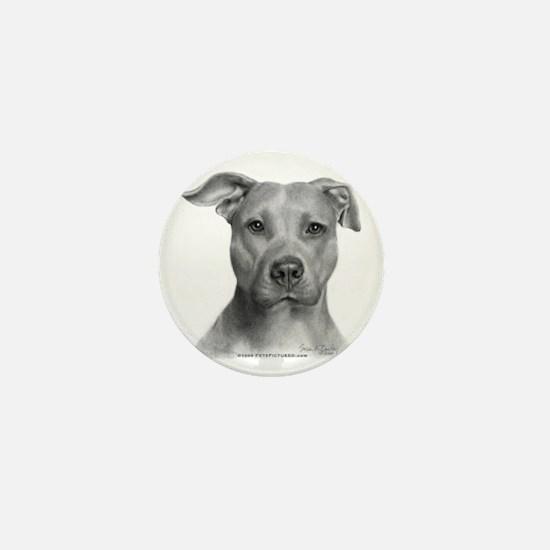 American Pit Bull Terrier Mini Button