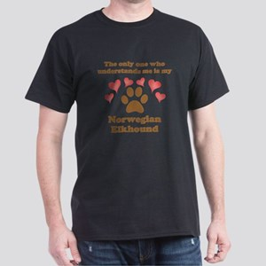 My Norwegian Elkhound Understands Me T-Shirt