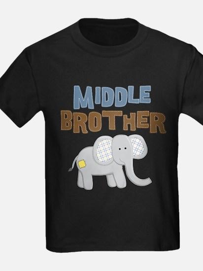 Middle Bro Elephant T-Shirt