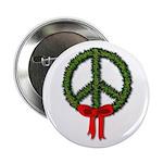 Peace Wreath Button