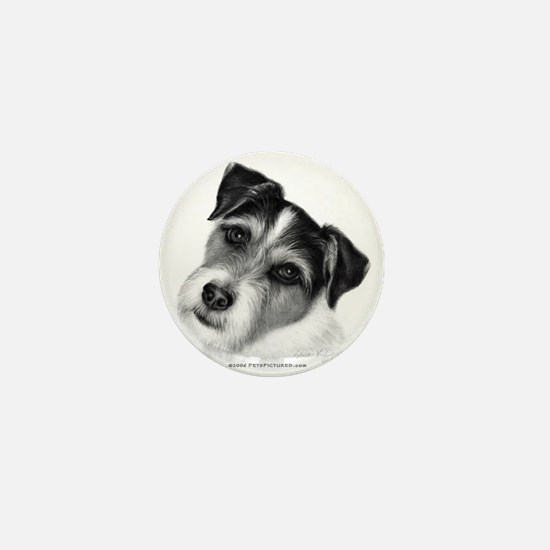 Jack (Parson) Russell Terrier Mini Button