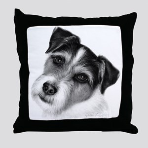 Jack (Parson) Russell Terrier Throw Pillow