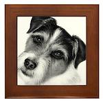 Jack (Parson) Russell Terrier Framed Tile