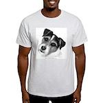 Jack (Parson) Russell Terrier Ash Grey T-Shirt