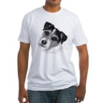 Jack (Parson) Russell Terrier Fitted T-Shirt