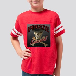 pirate_seacook Youth Football Shirt