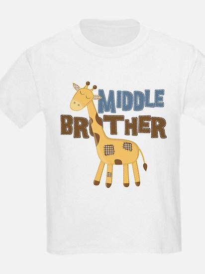 Middle Bro Giraffe T-Shirt