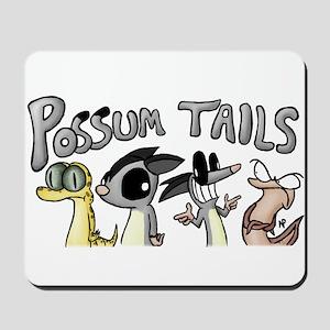 Possum Tails Logo Mousepad