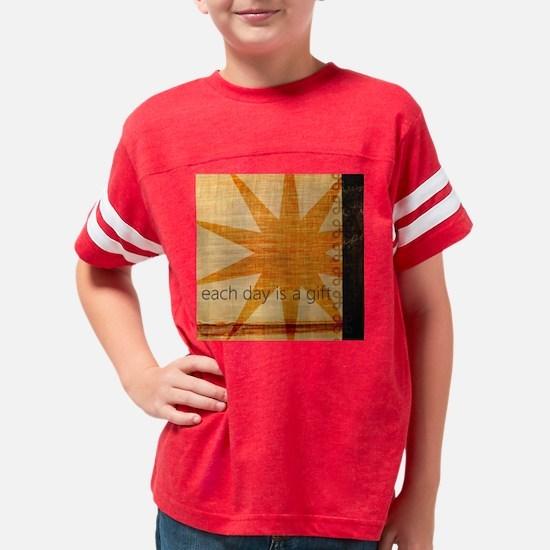 Sunburst Youth Football Shirt