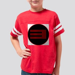 TV3_red1 Youth Football Shirt
