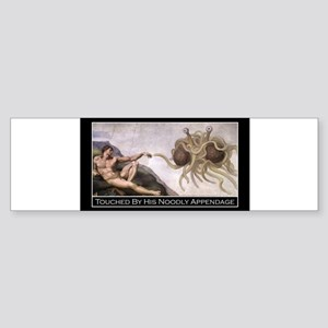 Touched Rectangle Sticker Bumper Sticker