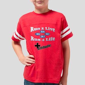 1S - Run 2 Live Run 4 Life -  Youth Football Shirt