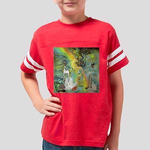 Unicorn Faerie fantasy Youth Football Shirt