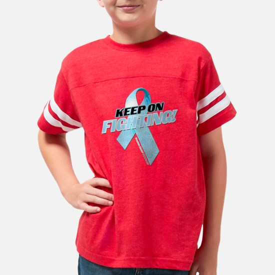 Keep on Fighting Prostate Can Youth Football Shirt