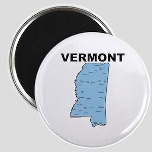 Vermont Mississippi Magnet