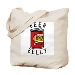 Beer Belly Tote Bag