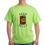 Beer Belly Green T-Shirt