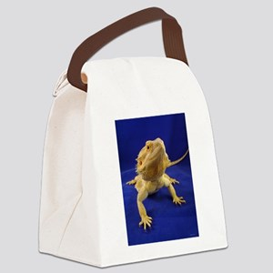 Bearded Dragon Canvas Lunch Bag