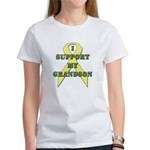 I Support My Grandson Women's T-Shirt