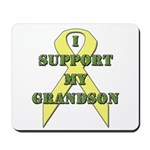 I Support My Grandson Mousepad