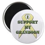I Support My Grandson Magnet