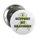 I Support My Grandson Button