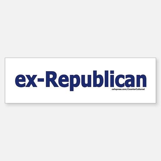 exREPUBLICAN Bumper Bumper Bumper Sticker