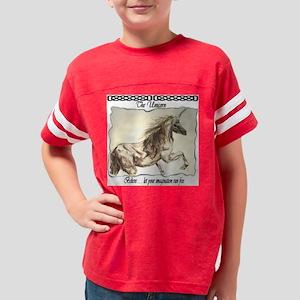 unicorn_titled Youth Football Shirt