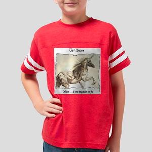 unicorn_runfree Youth Football Shirt